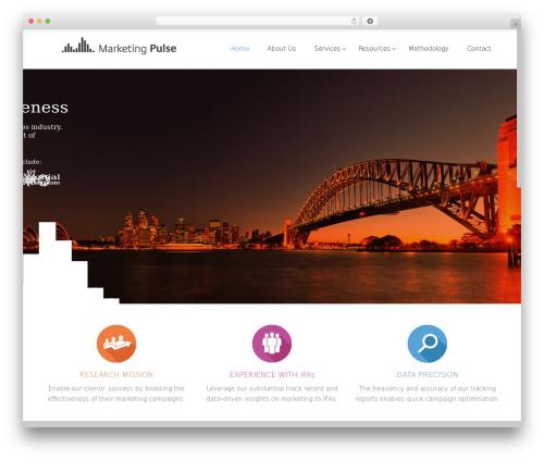 Satellite7 WordPress template - marketingpulse.com.au