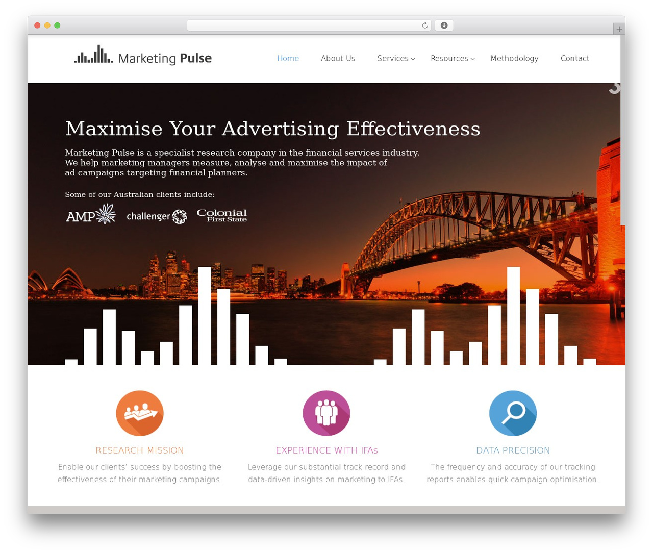 Satellite7 WordPress template - marketingpulse.com.au