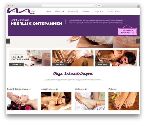 SpaSalon Pro theme WordPress - miumiuwellness.nl