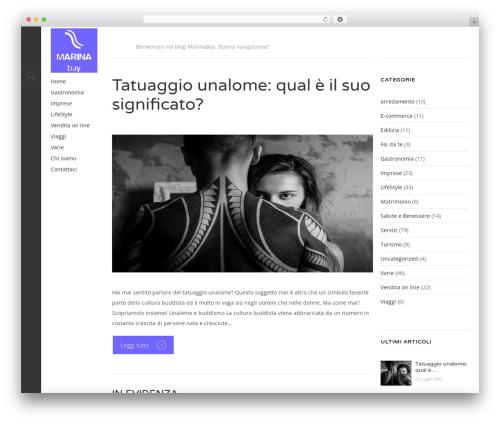 Template WordPress Magazine - marinabay.it