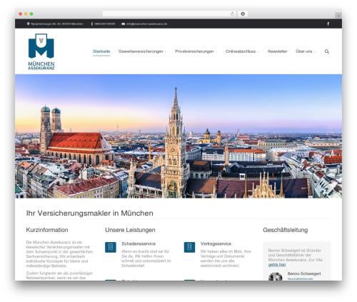 The7 premium WordPress theme - muenchen-assekuranz.de