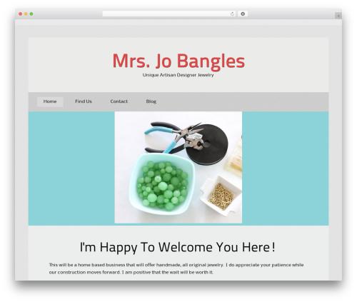 Theme WordPress BizKit - mrsjobangles.com