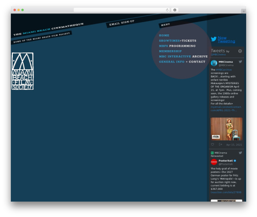 TwentyTen Five WordPress theme - mbcinema.com