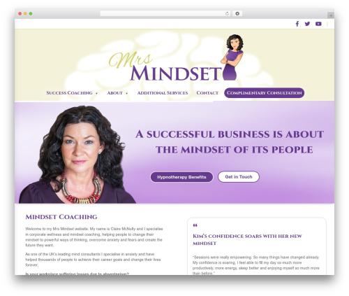 Blaszok WordPress theme - mrsmindset.co.uk