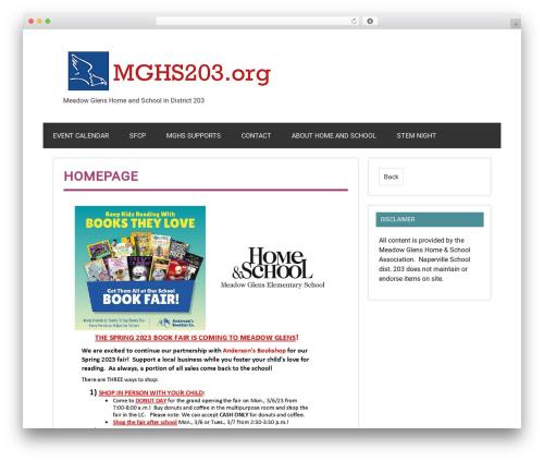 Dynamic News WordPress magazine theme - mghs203.org