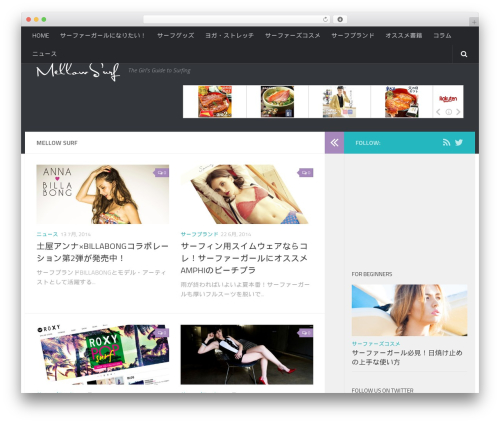 Hueman WordPress theme download - mellowsurf.com