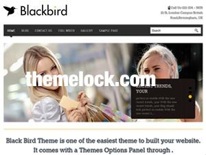MafiaShare.net -  BlackBird Responsive Theme WordPress theme image