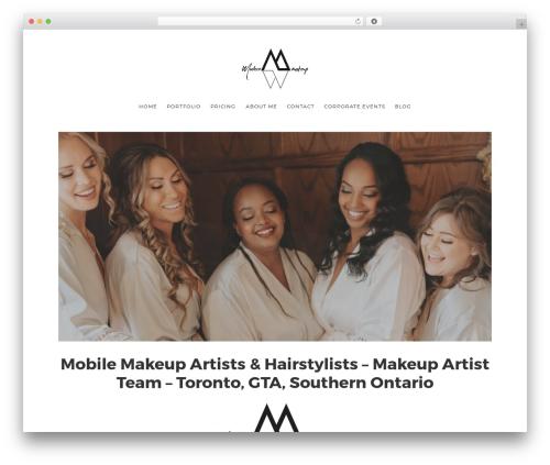 WordPress x-shortcodes plugin - modernmakeup.ca