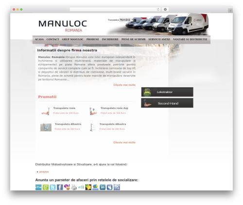 Template WordPress NewsBest - manuloc.ro