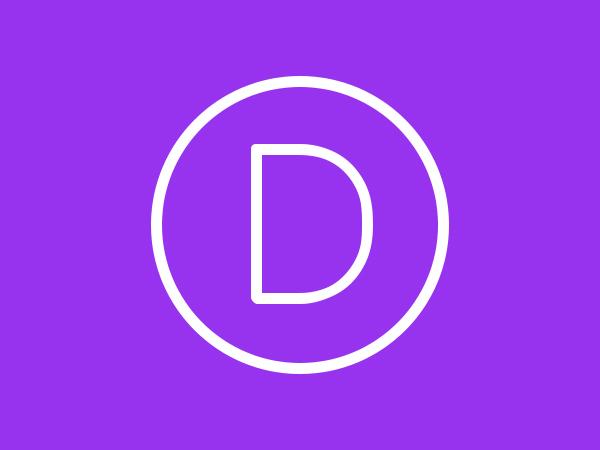 WordPress template Divi
