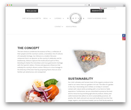 WordPress Slider Revolution plugin - misturarestaurants.com