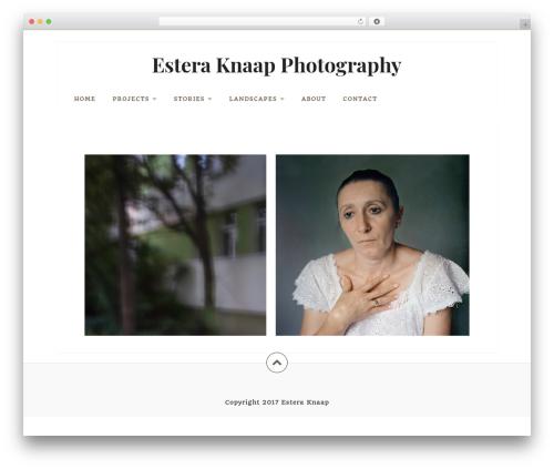 Datar photography WordPress theme - masterphotography.eu