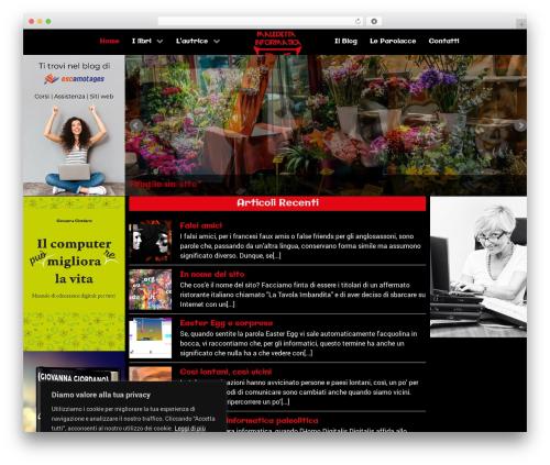 Hydrogen WordPress blog theme - maledettainformatica.com