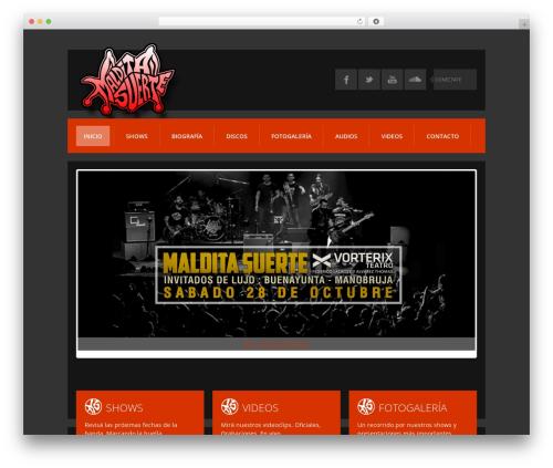 K-BOOM WordPress theme - malditasuerte.com.ar
