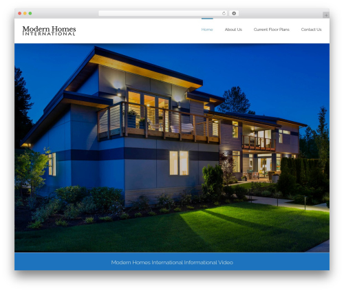 WordPress Slider Revolution plugin - modernhomesinternational.com