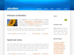Pluralism theme WordPress