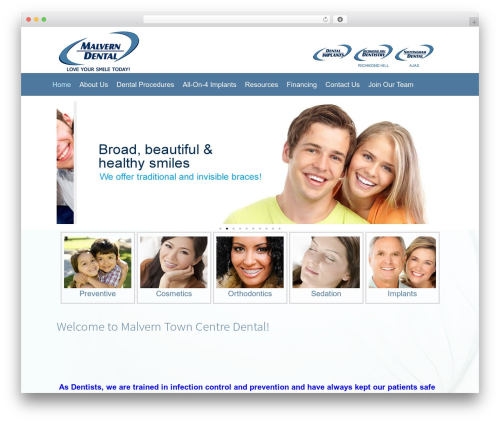 Free WordPress Image in Widget plugin - malverndental.com