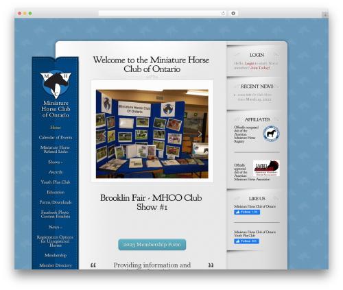 WordPress theme Memoir - mhco.ca