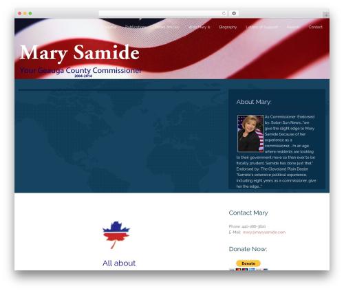 Free WordPress FancyBox plugin - marysamide.com