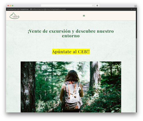Betheme theme WordPress - mochilaybaston.com