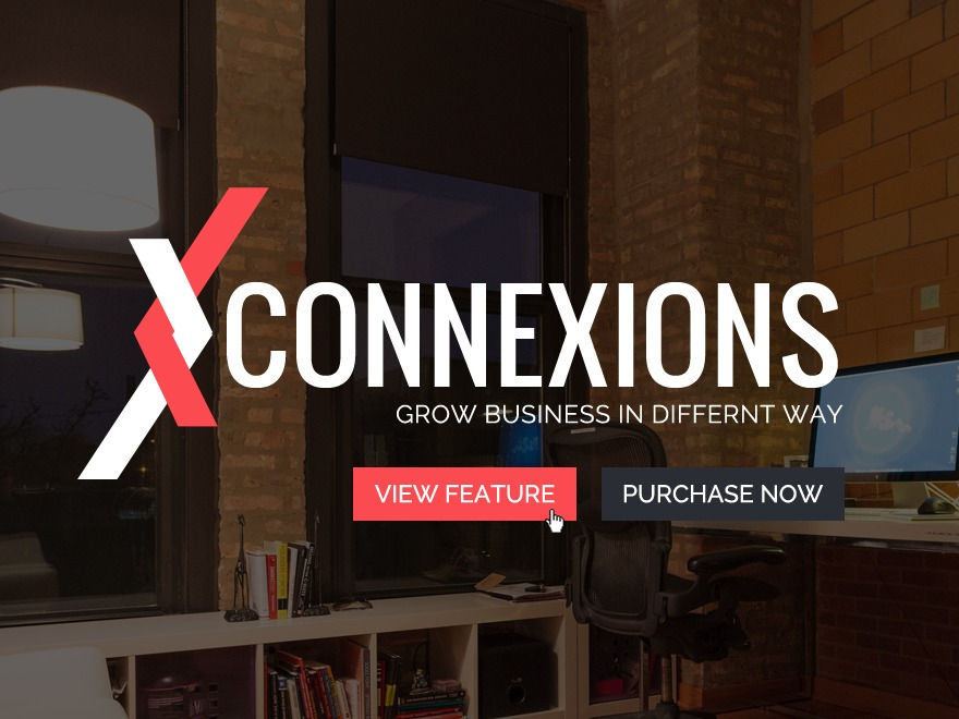 Connexions WordPress template for business
