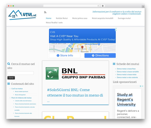 Customizr template WordPress free - mutui.me