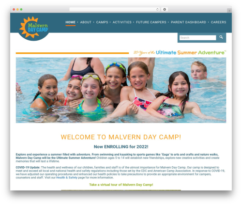 Free WordPress Responsive Menu plugin - malverndaycamp.com
