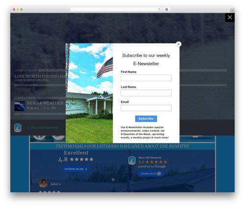 Theme WordPress OnAir2 - marshillnetwork.org