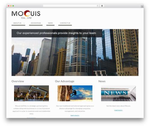 WEN Business free website theme - mocuis.com