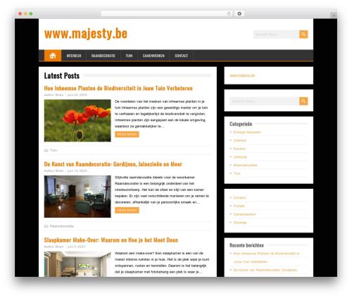 WordPress theme BrickYard - majesty.be
