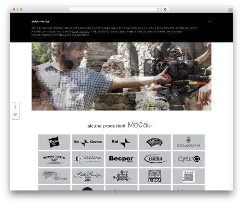 WordPress theme Striking MultiFlex & Ecommerce Responsive WordPress Theme - mocafilm.it