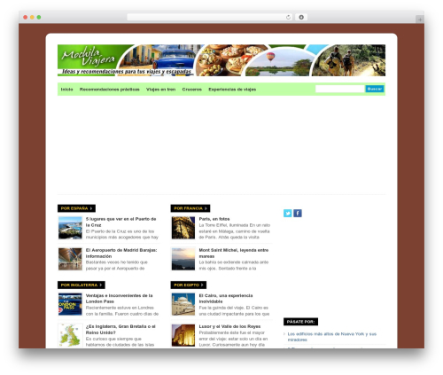 WP-Ellie premium WordPress theme - mochilaviajera.com