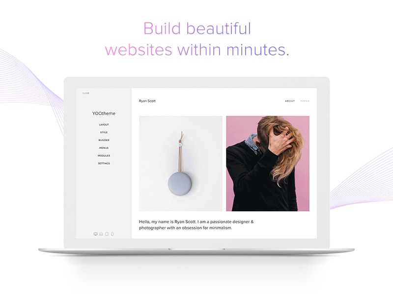 YOOtheme Child WordPress theme
