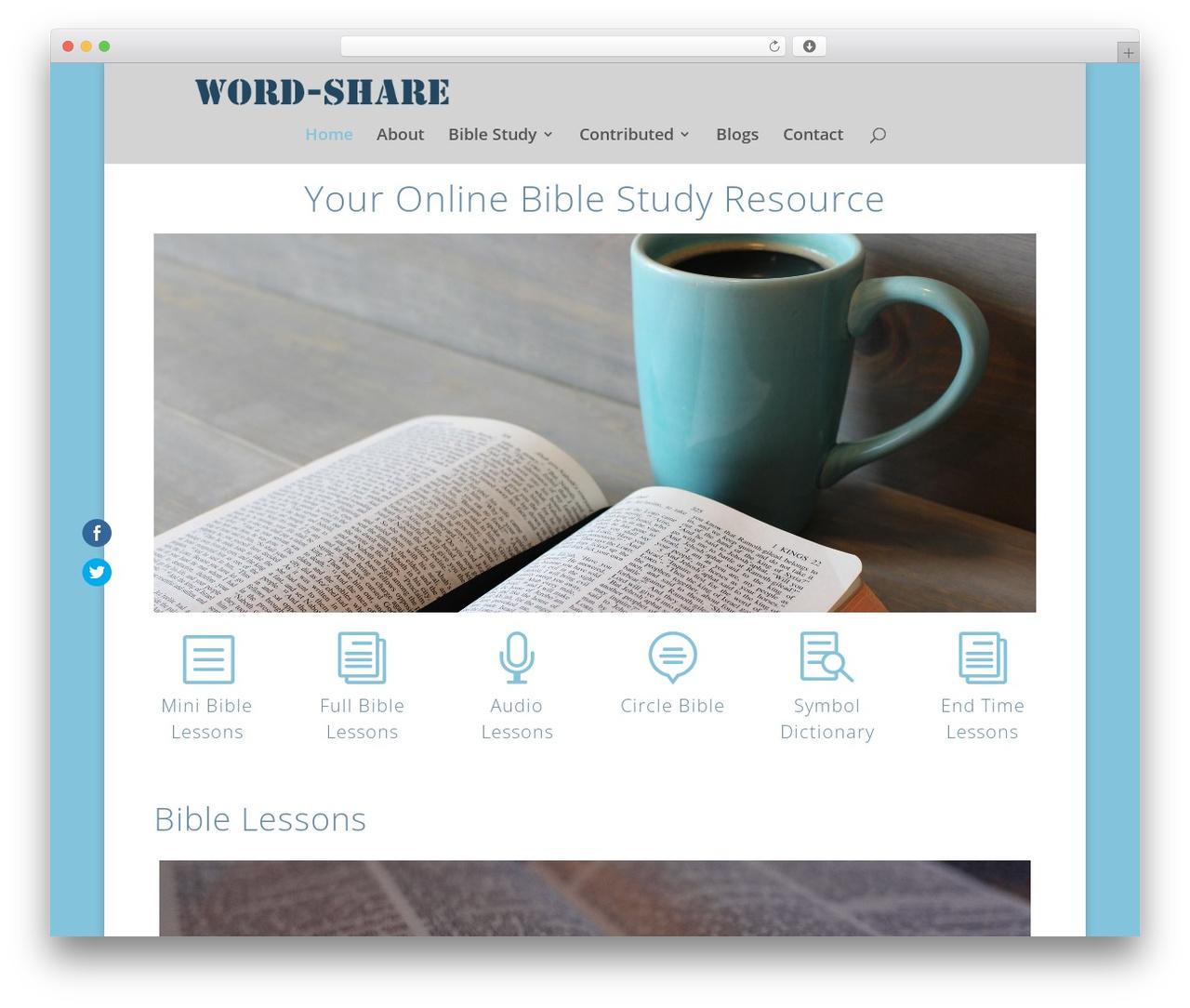 Best WordPress template Divi - word-share.com