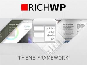 Best WordPress template RichWP FrameWork