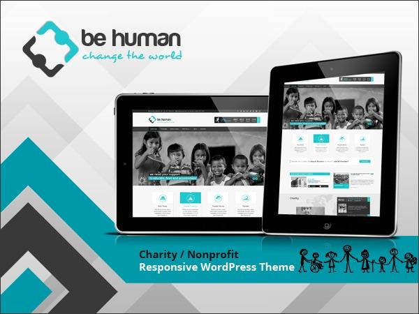 Charity Theme WordPress website template