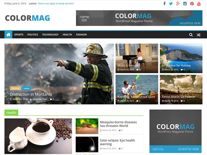 colormag-child WordPress theme