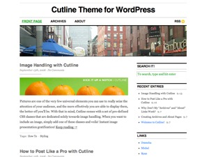 Cutline best WordPress theme