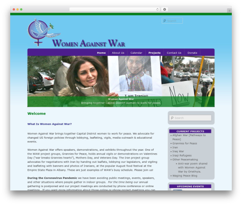 Free WordPress All-in-One Event Calendar plugin - womenagainstwar.org/wordpress