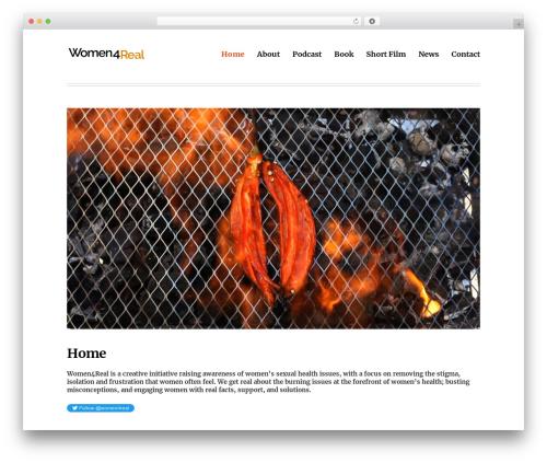 Deck WordPress theme free download - women4real.com