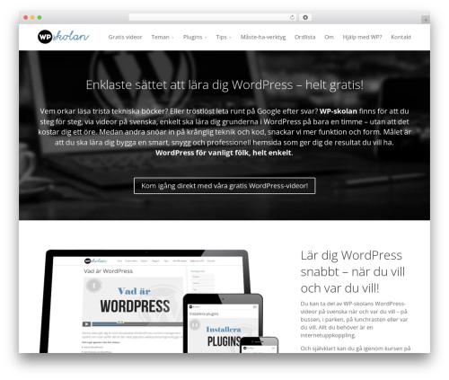 Free WordPress Fancier Author Box by ThematoSoup plugin - wpskolan.se
