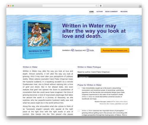 Free WordPress WP Customer Reviews plugin - writteninwatermemoir.com