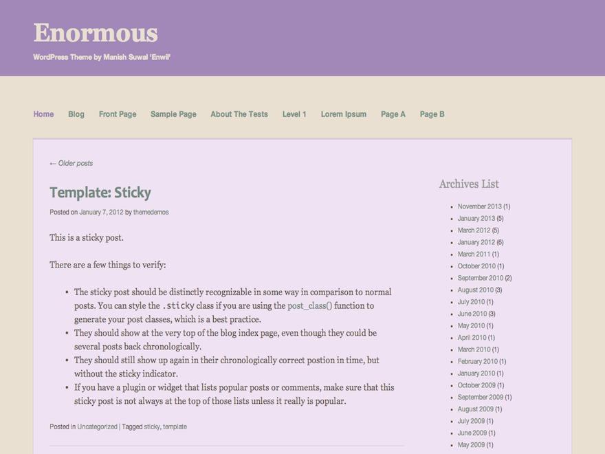 Enormous best WordPress gallery
