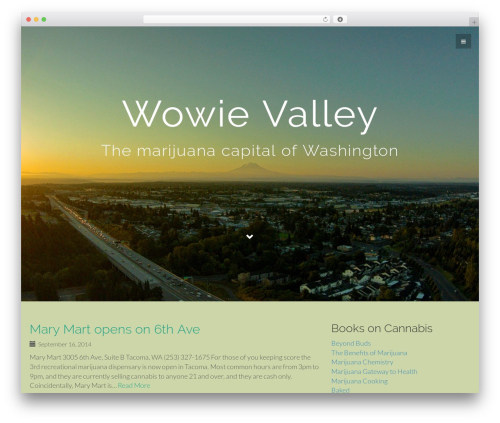 Flat Bootstrap WordPress template free - wowievalley.com