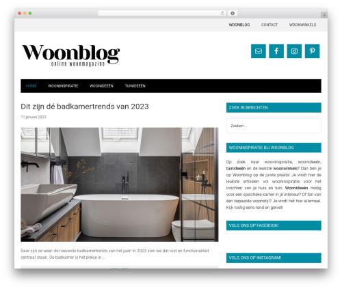 Genesis WordPress blog theme - woonblog.eu