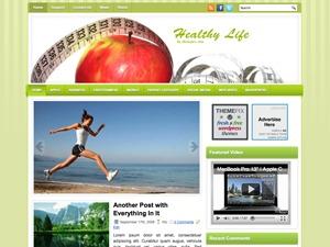 HealthyLife WordPress blog theme