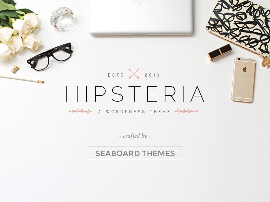 Hipsteria WordPress blog theme