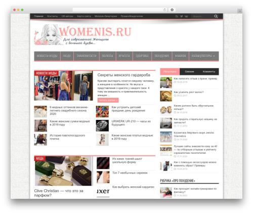 Jarida theme WordPress - womenis.ru