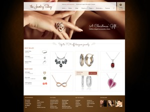Jewelry Shop WordPress shopping theme