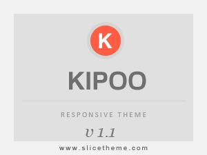 Kipoo personal blog WordPress theme